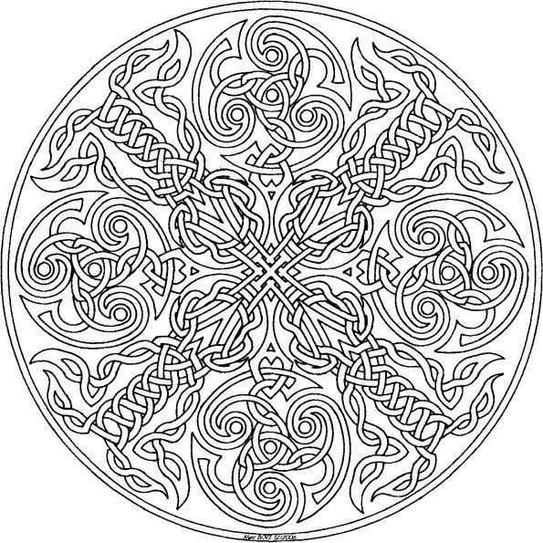 67 mandala a imprimer et a colorier - Mandala a colorier a imprimer ...
