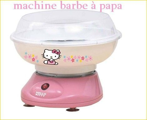 40 l 39 univer de l 39 electro menager de hello kitty - Machine a barbe a papa carrefour ...