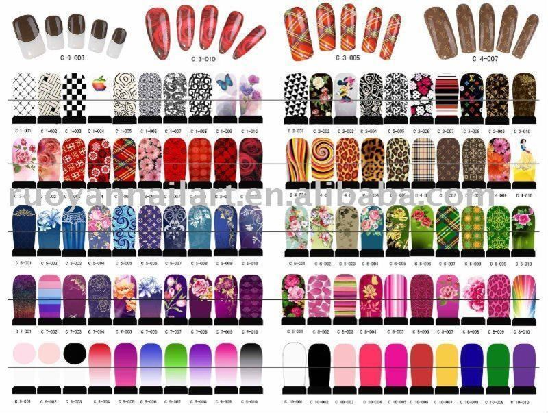 Nail Decal Polish Sticker Cheap Nail Polish Stickers Pictures to pin ...