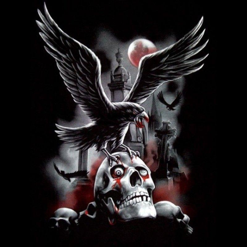 t-shirt-aigle-et-crane